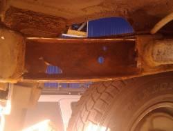 Ремонт рамы Nissan Patrol