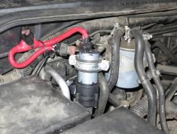 Установка доп. насоса на Nissan Pathfinder
