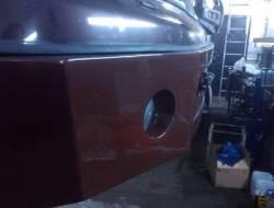 Установка и покраска силовых бамперов на Nissan Pathfinder