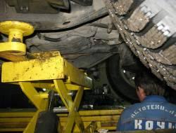 Смазка развальных болтов Nissan Pathfinder