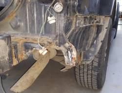 Восстановление кузова Nissan Pathfinder после ДТП