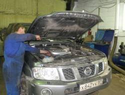 Ремонт автомобилей Nissan Patrol